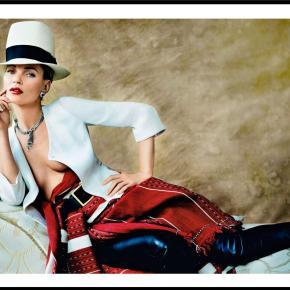 Kate Moss w kwietniowym VogueParis