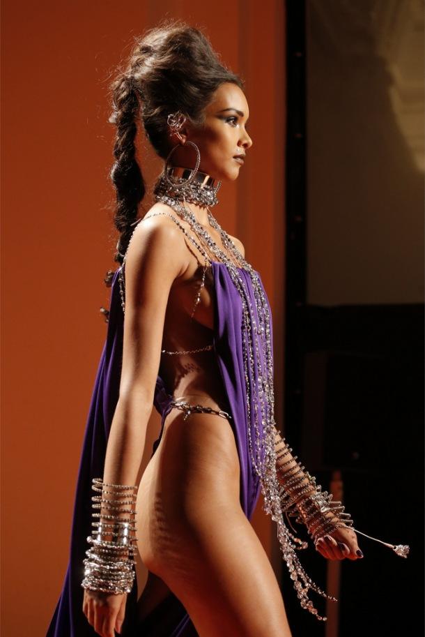 Lais Ribeiro Jean Paul Gaultier Couture SS 2013-006