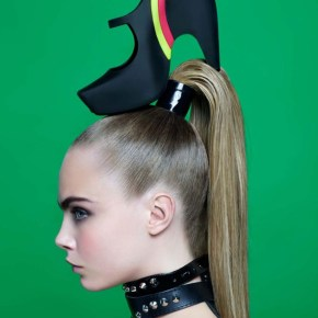 Ekscytujący Karl Lagerfeld dlaMelissa