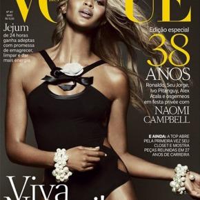 Naomi Campbell w wersjiblond
