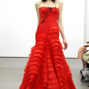 Czerwona panna młoda według VeraWang