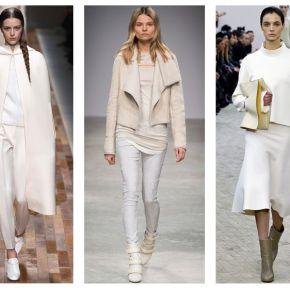 Niezawodna biel – trendy jesień/zima2013