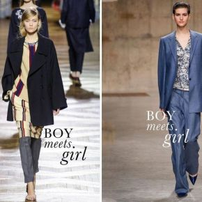 Chłopak spotyka dziewczynę -trendy jesień2013