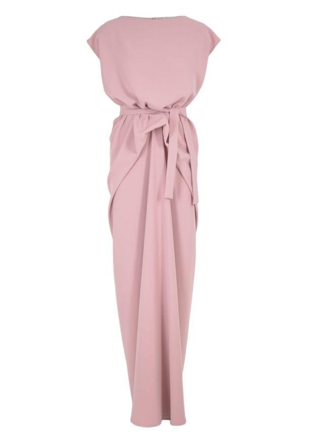 BOHOBOCO SS 2014 - sukienka podłapana długa (rózowa) - (m)