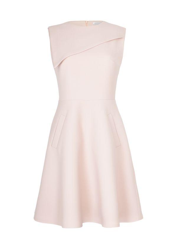 BOHOBOCO - Sukienka z geometrycznym elementem przy dekolcie - 2150,00 zł