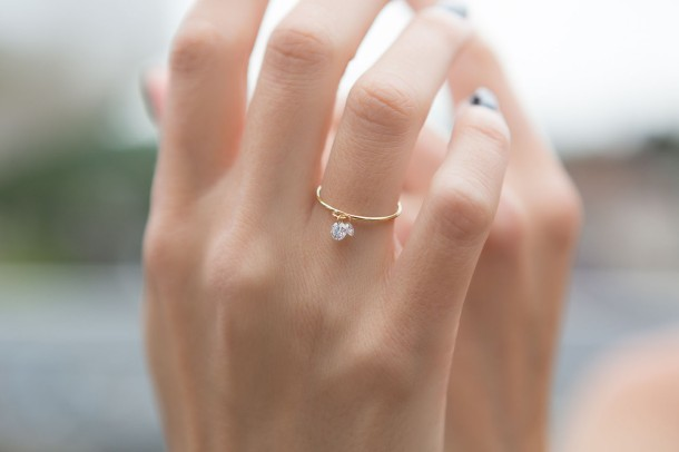 Nude Diamond - Clover Diamond Ring - Model 1