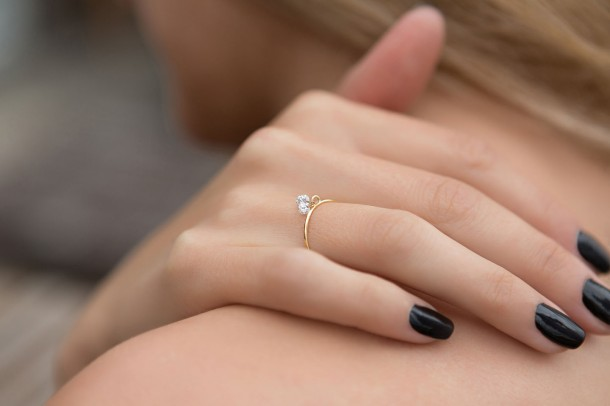 Nude Diamond - Clover Diamond Ring - Model 2