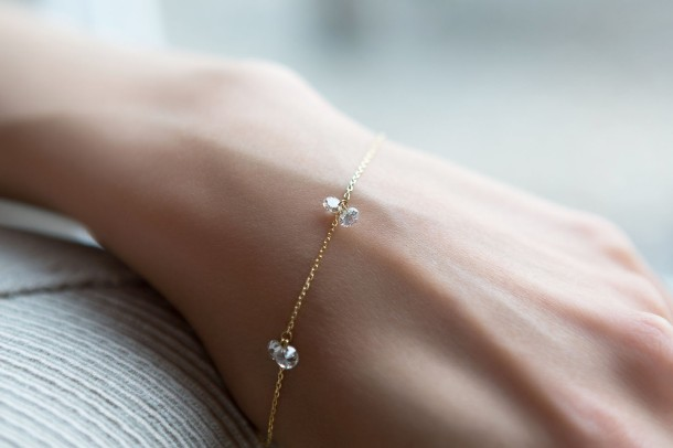 Nuit d'Ete Nude Diamond Bracelet - Model 1
