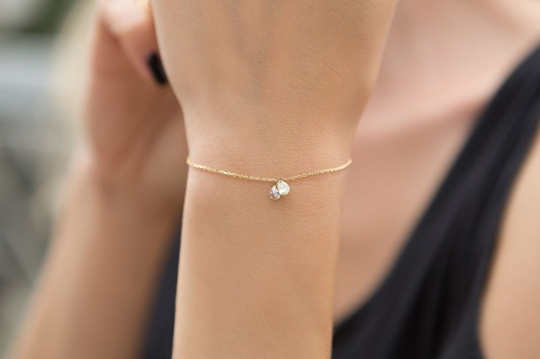Reverie Nude Diamond Bracelet - Model 1