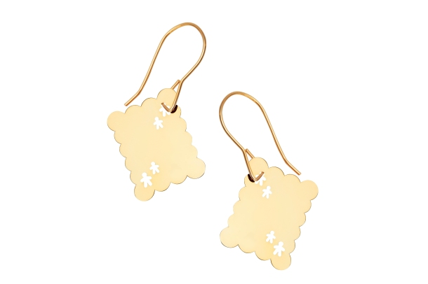 BeautifulSoulsBiscuitEarrings:249.00zl
