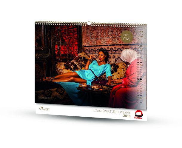 Kalendarz I... TAKI ┼Ťwiat jest pi─Ökny 2015 - maj (mm)