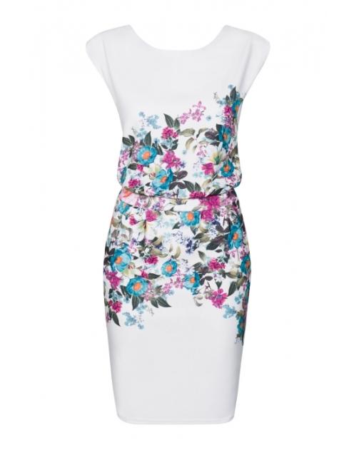 129,99 zł-sukienka-flowers-print