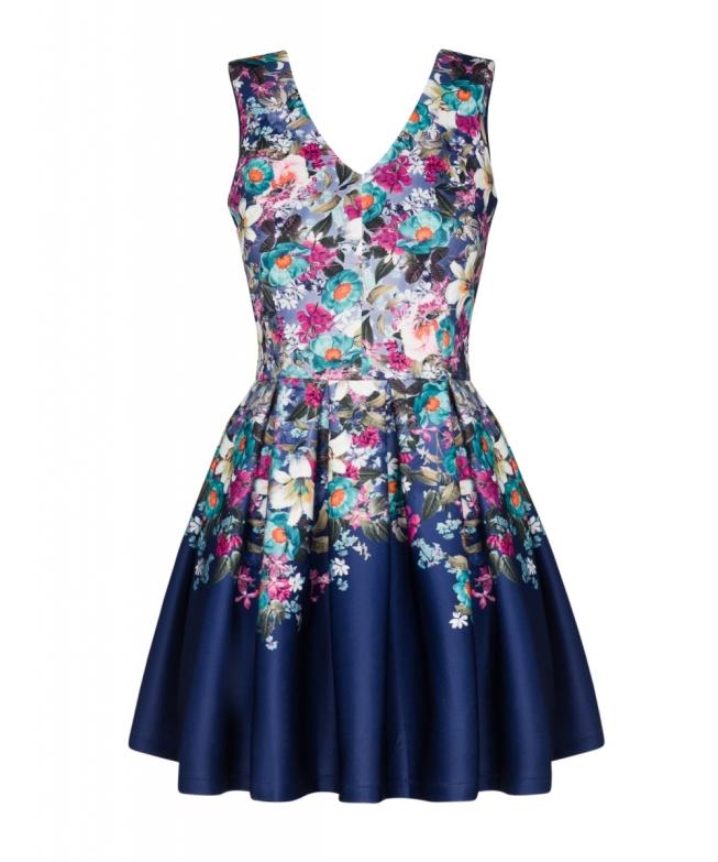 159,90 sukienka-flowers-w-kontrafaldy